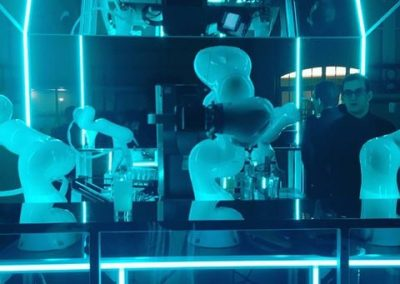 Robot bar at FTL in Paris