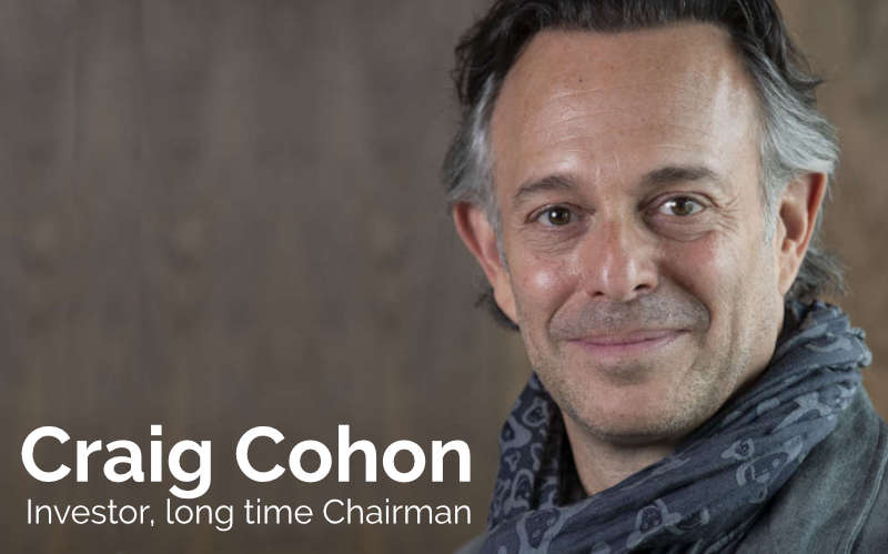 Craig Cohon - Investor, long time Chairman