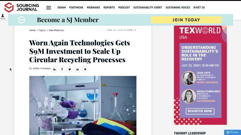 Sourcing journal 23 June 2020